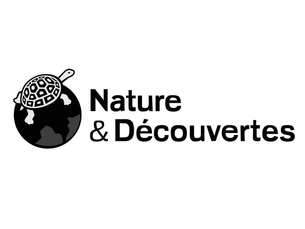 nature et decouverte - logo black