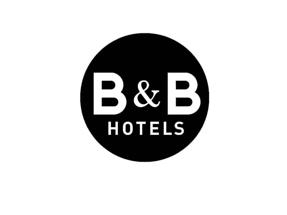 bandb hotel logo black