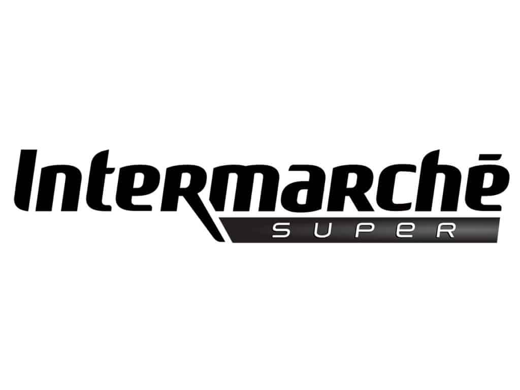 logo intermarché - black