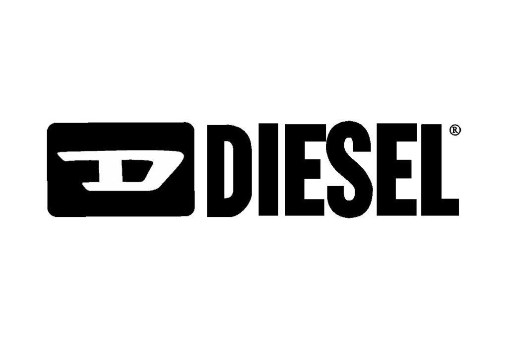 logo diesel noir