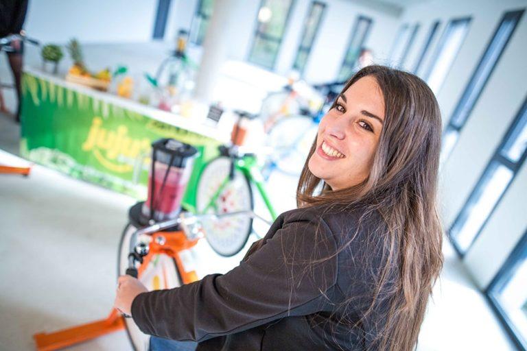 vélo à smoothies