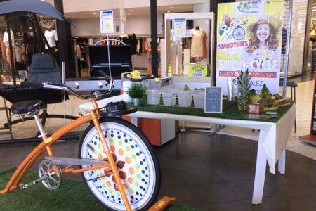 vélo smoothie supermarché