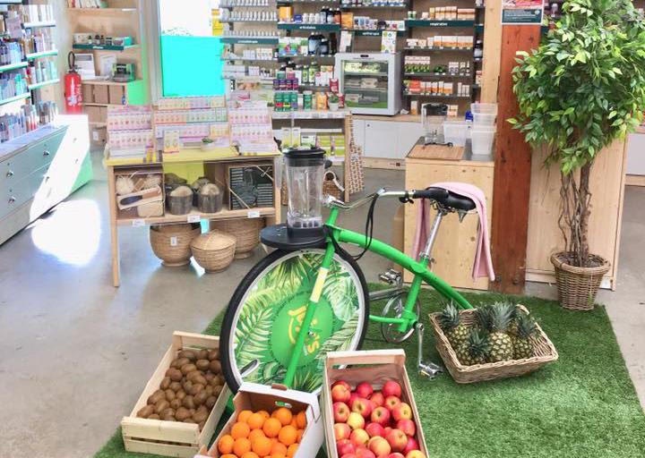 vélo blender magasin bio