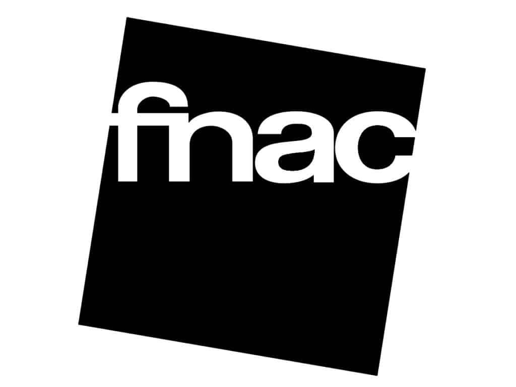 logo fnac - black