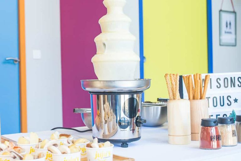matériel fontaine à fromage
