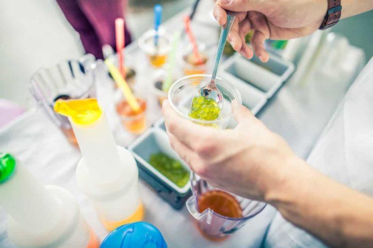 bubble tea sur salon professionnel