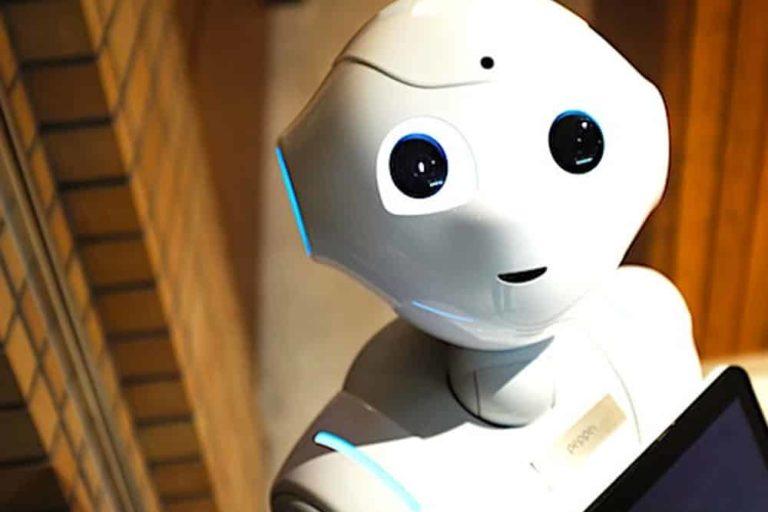 animation original robot sur salon professionnel