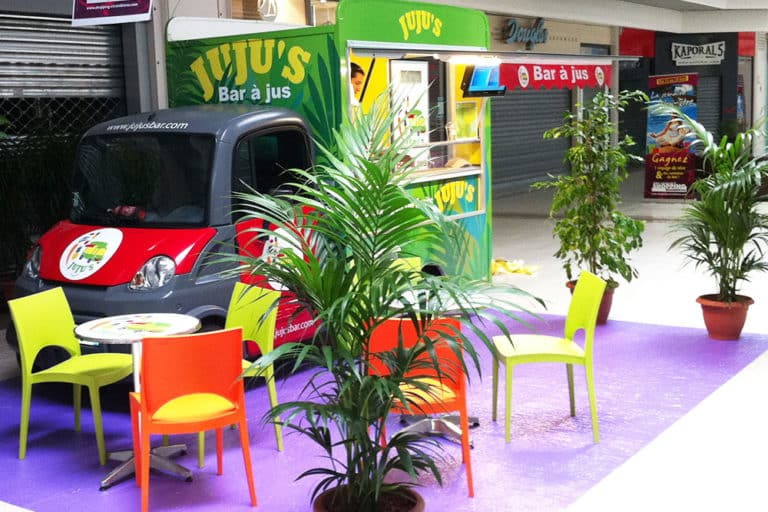animation evenementielle food truck - mall center